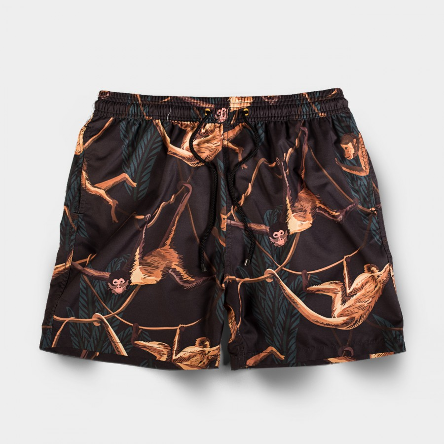 Miko Gold Board Shorts