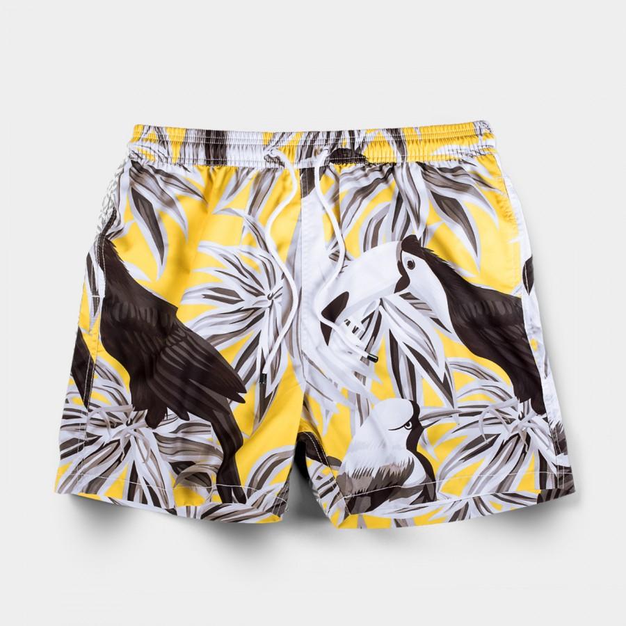 Tucano Yellow Swim Shorts