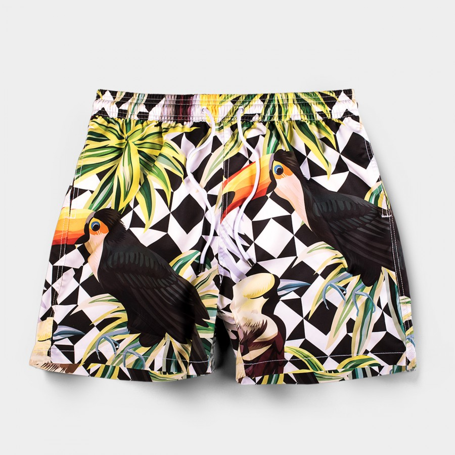 Tucano Black Board Shorts