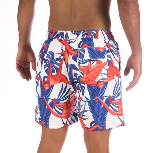 Miko Red Board Shorts