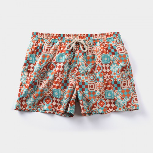 Caril Tile Swim Shorts