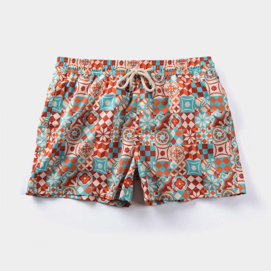 Caril Tile Swim Shorts