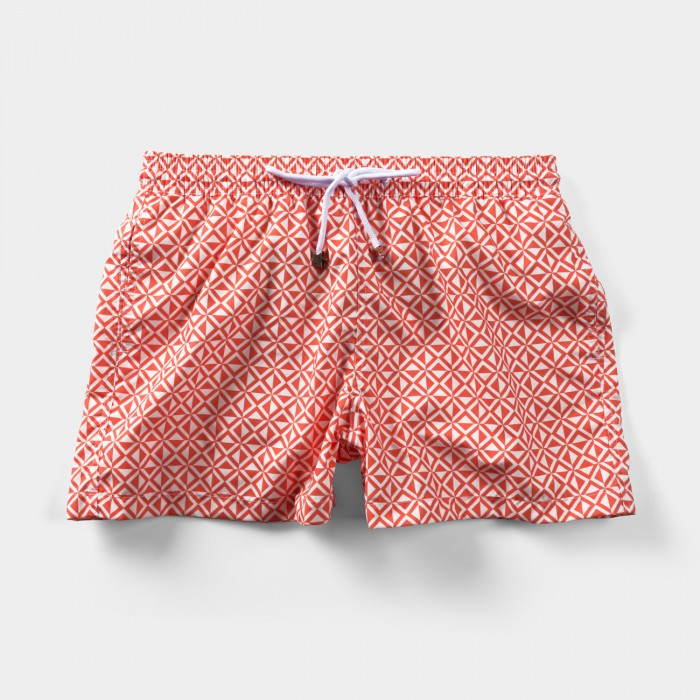 Tulum Tile Swim Shorts