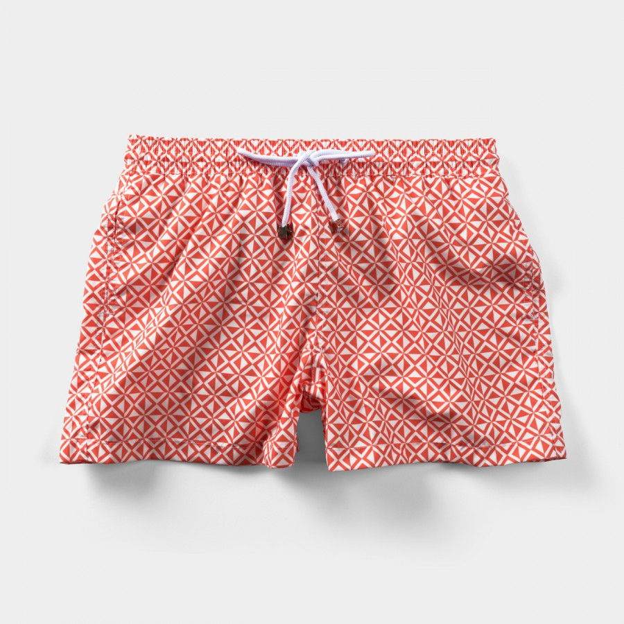 Tulum Tile Swim Shorts