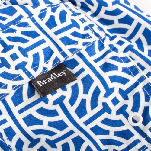 Blue Tile Swim Shorts